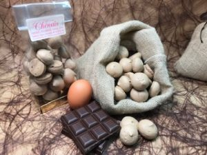 Meringue chocolat