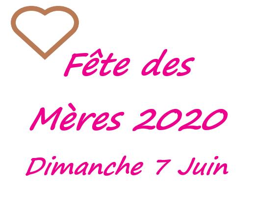 Fête des mères 2020